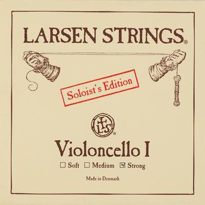 Larsen Violoncello A Soloist Chromstahl 4/4