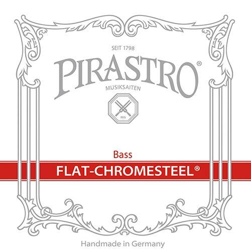 Kontrabass Flat Chromsteel Satz Solo