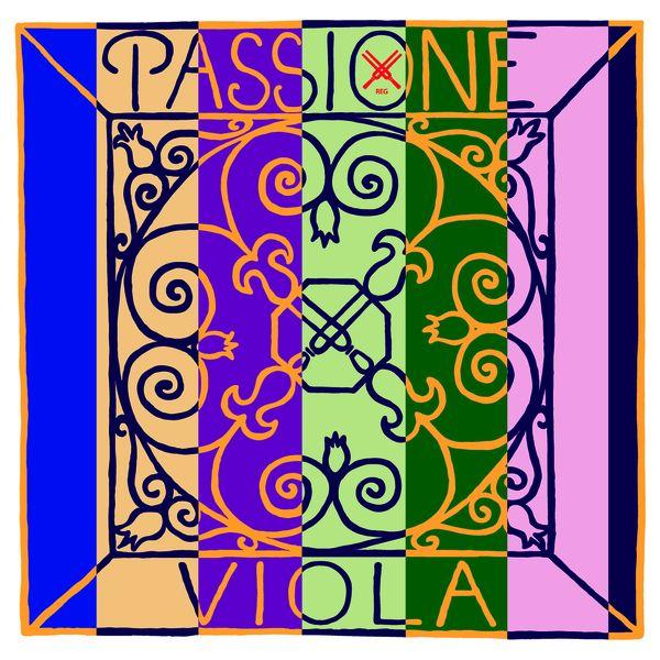 Pirastro Passione Viola D Saite Darm/Silber