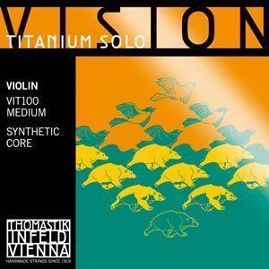 Thomastik Vision Titanium Solo Violine Saiten Satz