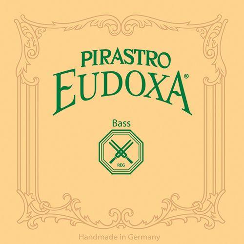 Kontrabass Eudoxa Satz Orchestra Darm/Silber