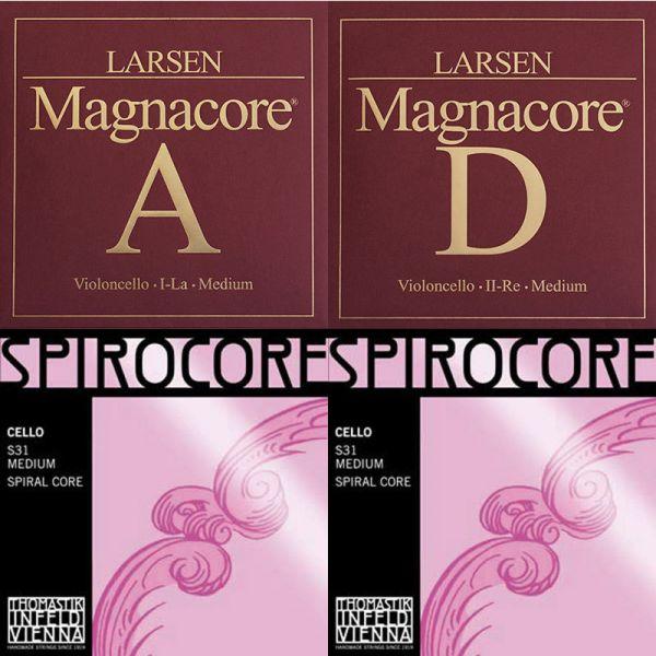 Satz Larsen Magnacore/Spirocore Wolfram