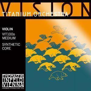 Thomastik Vision Titanium Orchestra Violine Saiten Satz