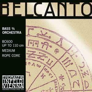 Thomastik Belcanto Kontrabass Orchester D3/4