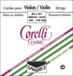 Corelli Crystal Violine Saiten Satz