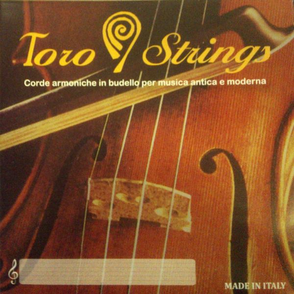 Toro Geigen D Darmsaite Silber