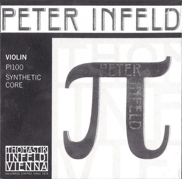 Peter Infeld Saiten Satz mit E Zinn, D-Silber