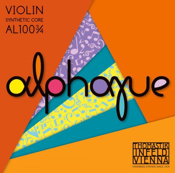 Thomastik Alphayue Violine D Saite Silber
