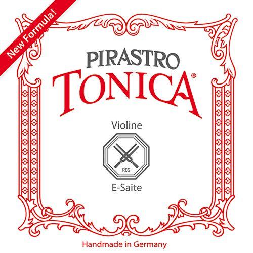 Pirastro Tonica Geige E Silvery Steel