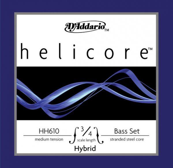 D'Addario Helicore Hybrid Satz Kontrabasssaiten