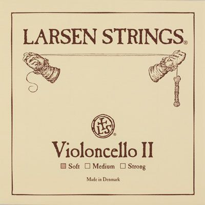 Larsen Violoncello D Chromstahl 4/4
