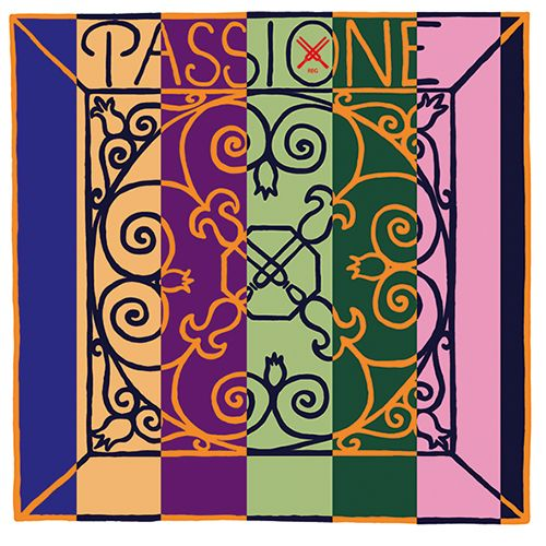 Passione Solo Geige G Darm/Silber