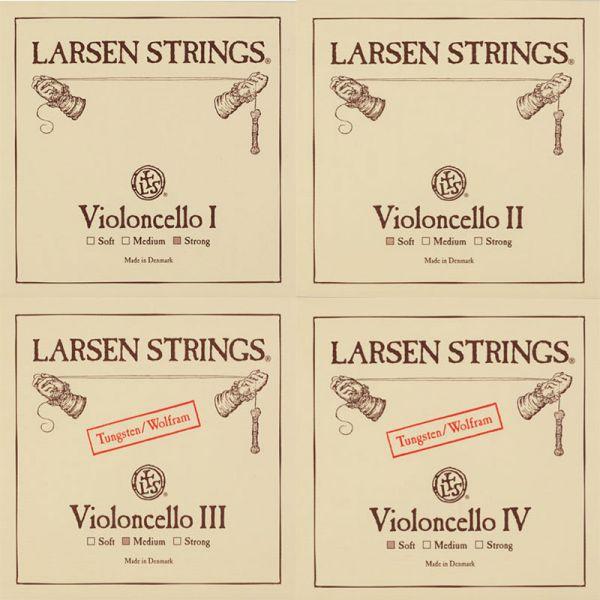 Larsen Violoncello Satz