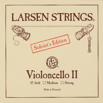Cello D Soloist Chromstahl 4/4 Larsen