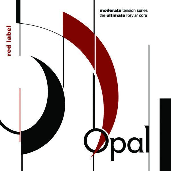 OPAL red label D Violoncello Saite