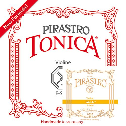 Pirastro Tonica Geige Satz E Pirastro Gold