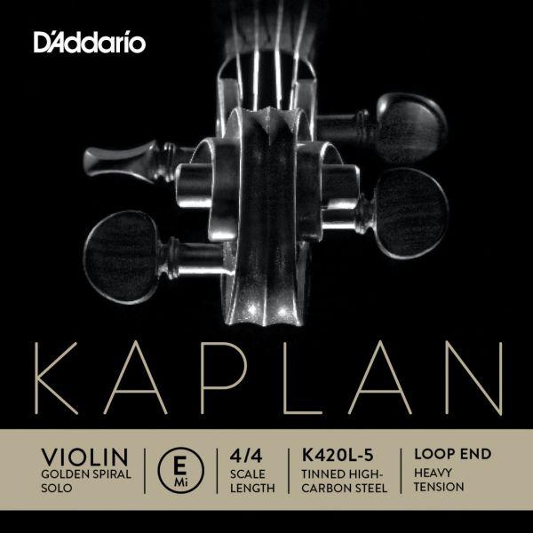 Kaplan Golden Spiral Solo Violin E Saite