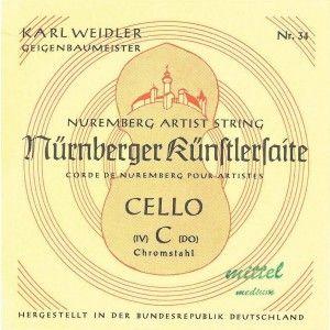 Nürnberger Künstler Cello A Saite