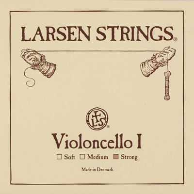Larsen Violoncello A Chromstahl 4/4