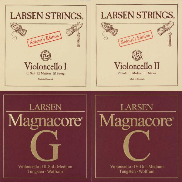 Larsen Soloist/Magnacore Violoncello Satz